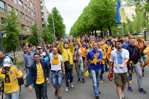 Фанаты сборных Украины иХорватии проведут матч между собой